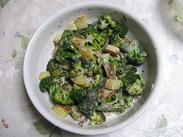 焼き野菜のヨーグルト和えサラダ