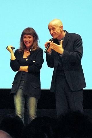 Paola Randi e Peppe Servillo