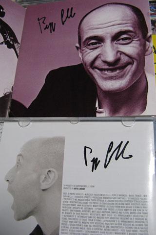 Peppe Servilloのサイン