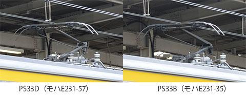 PS33DとPS33B