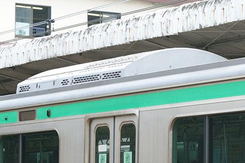 サハE231-1028の冷房装置
