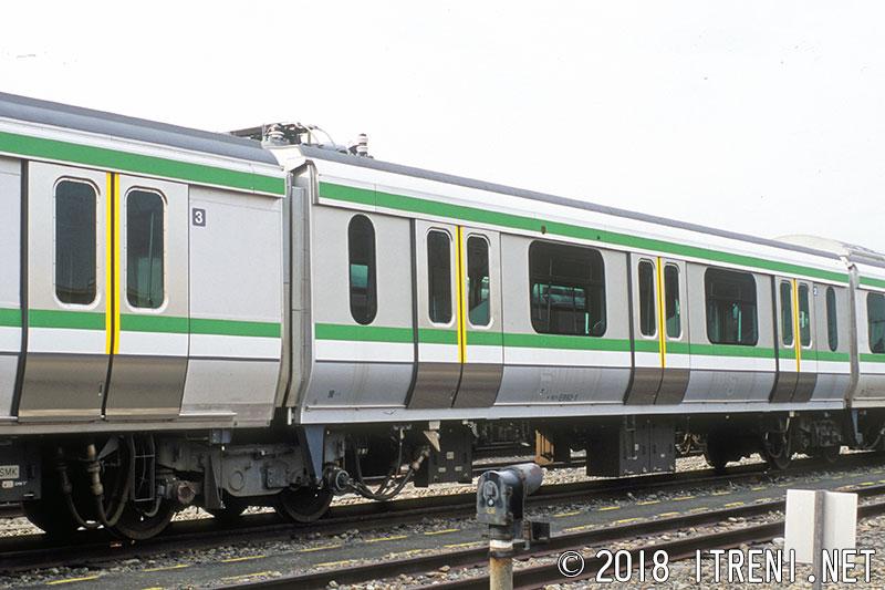 E993系試験車
